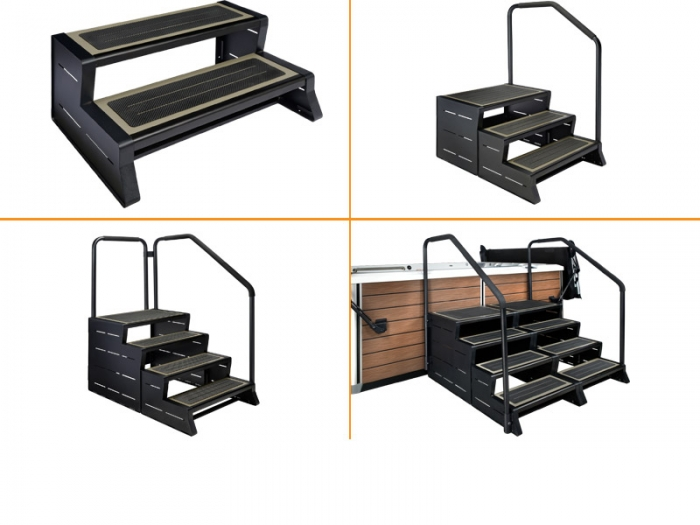 Various Configurations of the Modstep are Available